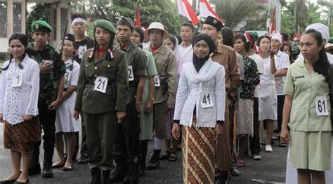 film indonesia tentang perjuangan wanita serunya lomba busana ala pejuang 45 di singkawang news