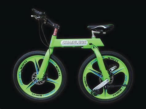 on a bike missing links chainless bike breaks design mold