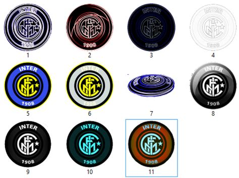 Ultimate Inter Logo 6 by Gratis Tema Windows 7 2013 Inter Milan Fc