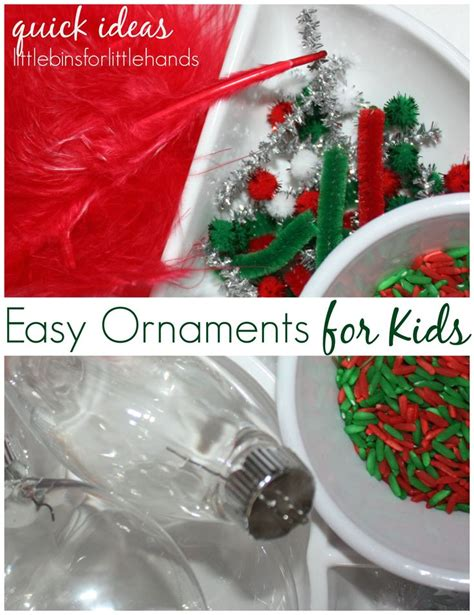 easy ornaments for kids homemade ornaments plays and
