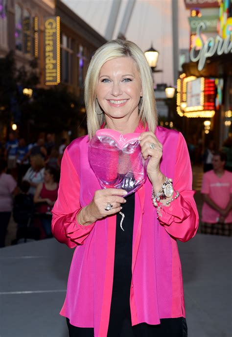 olivia newton john s race for prevention a breast health