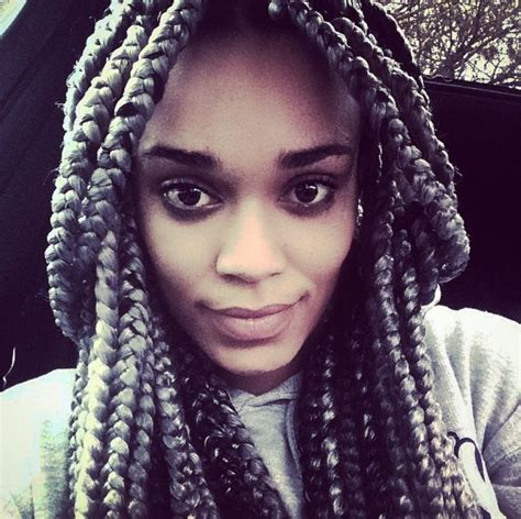 hairstyle photos of pearl thusi 134 best images about silver box braids on pinterest