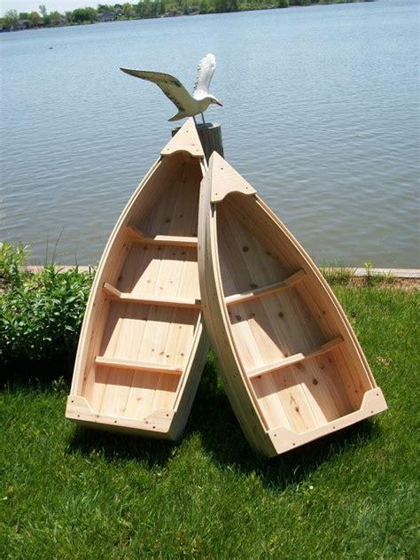 wooden boat planter 4 foot nautical wooden outdoor landscape all cedar boat