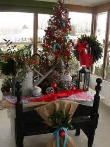 christmas porch decorating ideas a whole bunch of christmas porch decorating ideas style