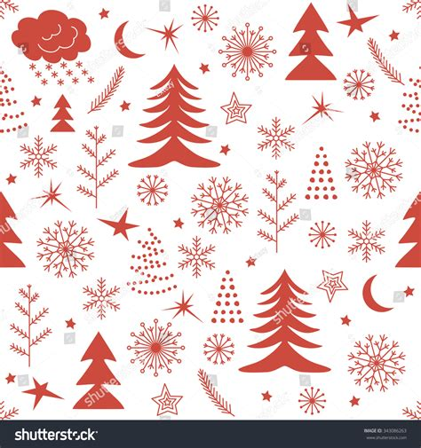 pattern red winter clothes horde seamless christmas pattern red winter background for