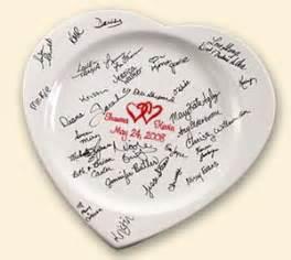 wedding guest book platter what is a wedding guest book platter or signature plate