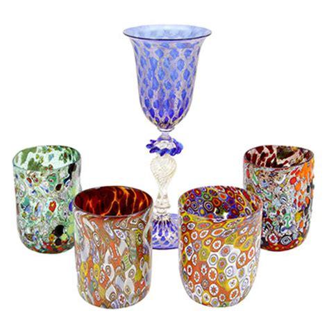 murano glasses goblets