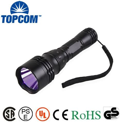 Produk Baru Senter Flashlight Led Uv Ultraviolet 9 Led Baterai 395nm underwater 5w ultraviolet blacklight flashlight led