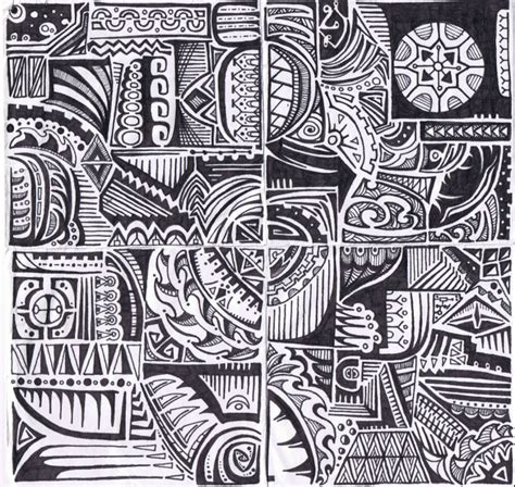 hawaiian tribal pattern meanings polynesian tribal by karianasan on deviantart