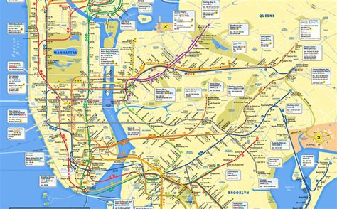 mta maps mta subway map gets a makeover it s all about manhattan nbc new york