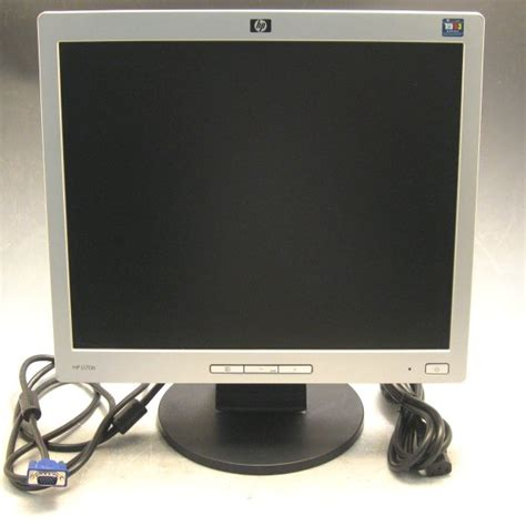 Monitor Hp L1706 features