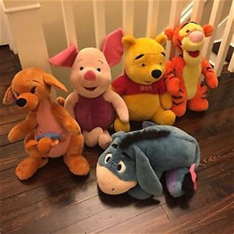 Boneka Tigger Tiger Pooh Disney Jumbo jumbo plush winnie the pooh tigger piglet eeyore kanga roo
