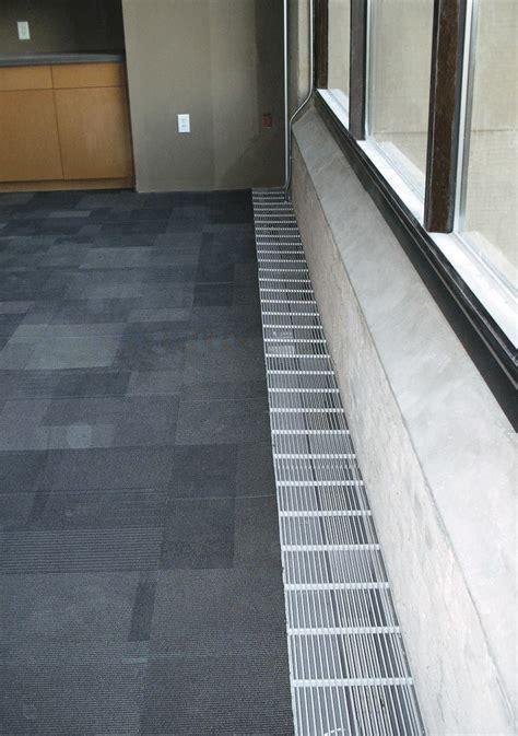 Tate Flooring perimeter trough from tate access floors architect