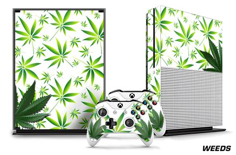 Stickers Xbox One S Personnalisé by Microsoft Xbox One S 1s Console Plus 2 Controller Skins