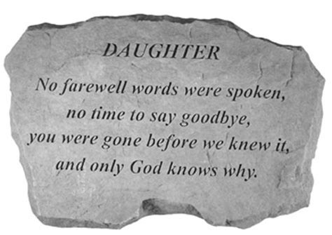 loss of a daughter words of comfort loss of a daughter quotes quotesgram