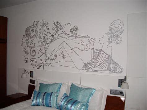 imagenes para pintar tu cuarto dibujo en pared decorar tu casa es facilisimo com