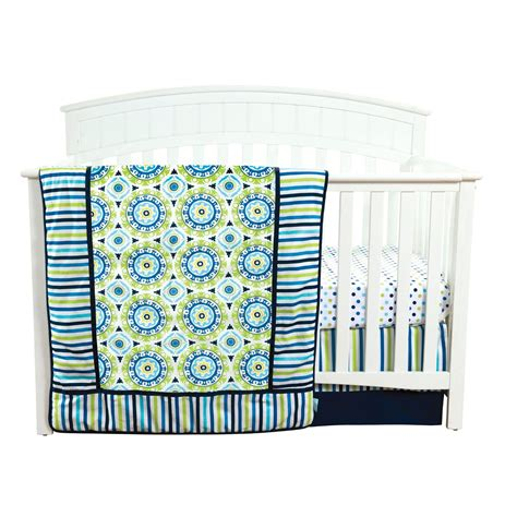 Crib Accessories by Trend Lab Waverly Solar Flair Crib Bedding And Accessories