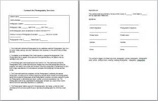 Photographer Contract Template by Photography Contract Template Tips Guidelines