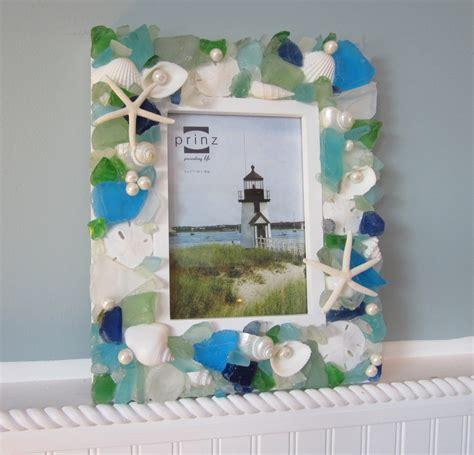beach decor beach decor seashell frame nautical shell frame w sea