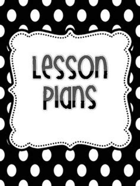 printable lesson plan binder cover newsletter templates on pinterest binder covers lesson