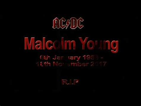 Kaos Band Acdc Anything Goes r i p malcolm acdc anything goes