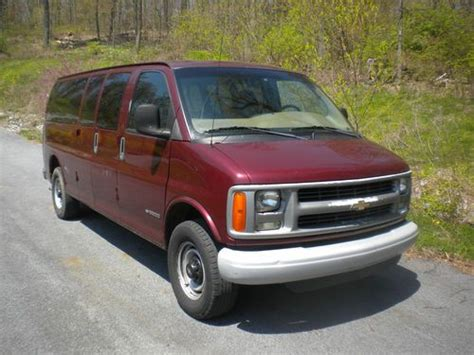 buy car manuals 2001 chevrolet express 3500 user handbook find used 2001 chevy express 3500 15 passenger van in denver pennsylvania united states for