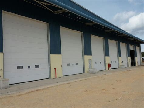 sectional overhead doors industrial sectional overhead doors manufacturers india