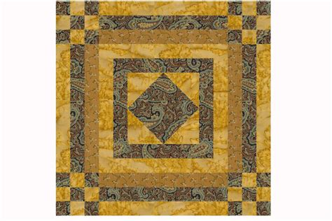 quilt pattern types 15 quot quilt block pattern nine patch with logs