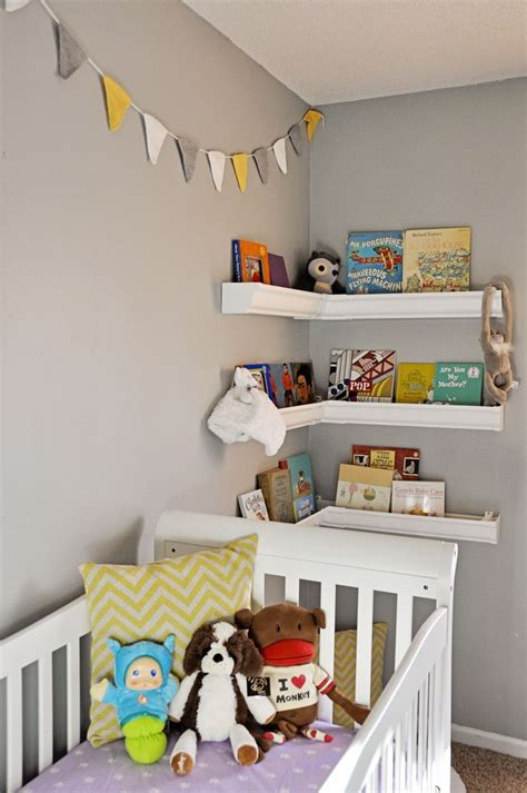 nursery shelves for corner deermans