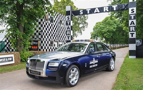Rolls Royce Safety Rolls Royce Ghost Extended Wheelbase Goodwood 2012 Pace