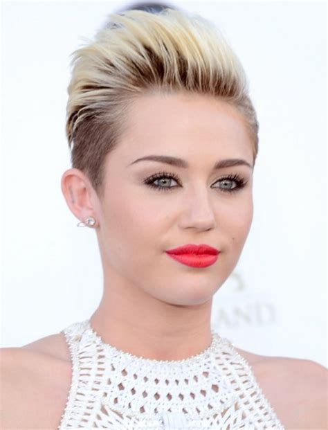how to style miley cyrus hairstyle miley cyrus hairstyles short straight haircut pretty
