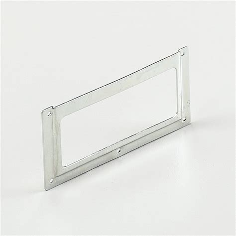 Drawer Label Holders by Drawer Label Holder Anodized Steel