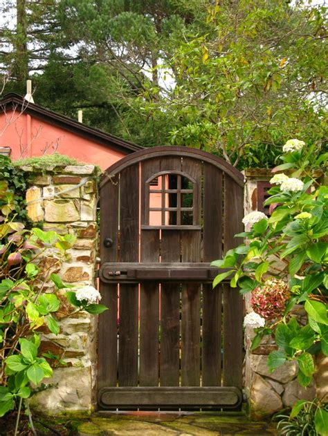 wooden backyard gates 17 best images about carmel cottages gardens on pinterest