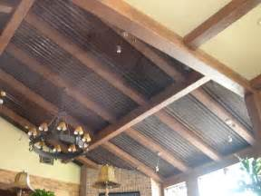 homes with corrugated metal ceiling corrugated metal