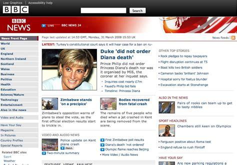 design news online bbc news and sport websites show off new looks editors