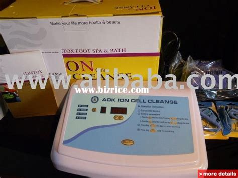 Aok Foot Detox by Ion Bath Cleanse Bizrice