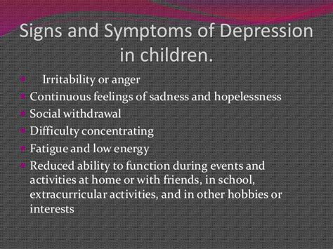 Depression During Detox by Meeting The Needs Of Children And Families Sickle And