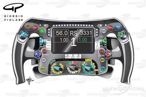 volante f1 technique les secrets du volant mercedes motorsport