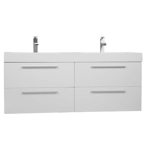 modern sinks and vanities buy 54 inch modern double vanity set with drawers
