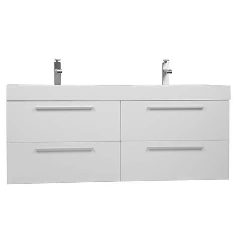 54 inch bathroom vanity double sink buy 54 inch modern double sink vanity set with drawers