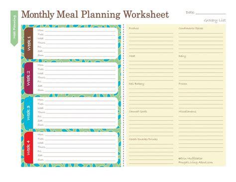 printable weekly meal planner calendar free printable meal planners