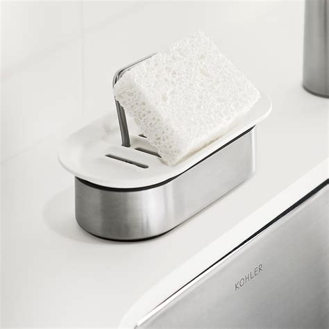 Kitchen Sink Store by Kohler Sponge Holder The Container Store