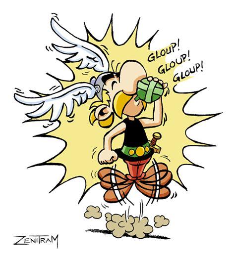 Dessin De Asterix Potion Magiquel