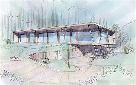 Maison Bioclimatique Architecture by Trihab Architecture Bioclimatique