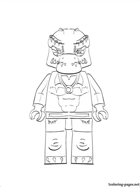 free coloring pages of lego chima cragger