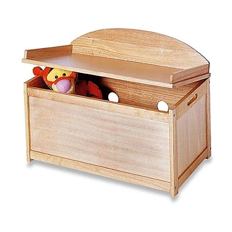 toy bench chest natural toy chest bench buybuy baby