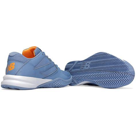 new balance womens 696v2 tennis shoes blue orange b
