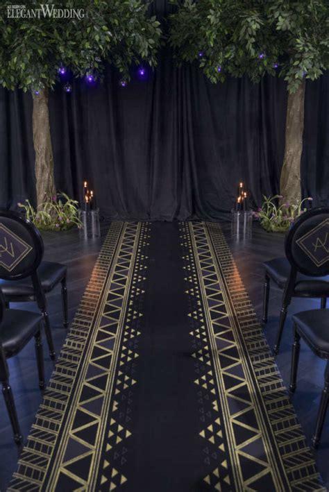 regal black panther wedding theme elegantweddingca