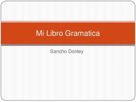 libro gramatica en contexto libro 000 mi libro gramatica