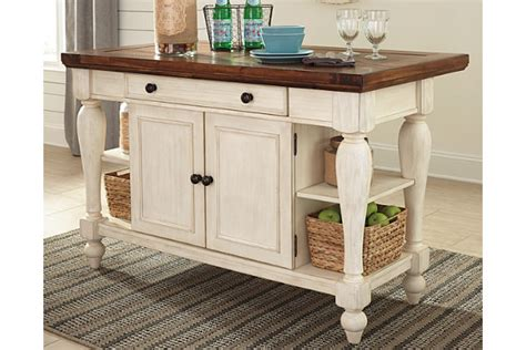 Kitchen Islands Furniture marsilona kitchen island ashley furniture homestore
